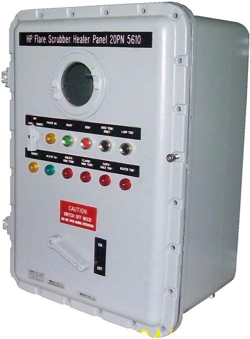 Explosion Proof Fuse Box : Explosion proof heater control panel topaz integrated